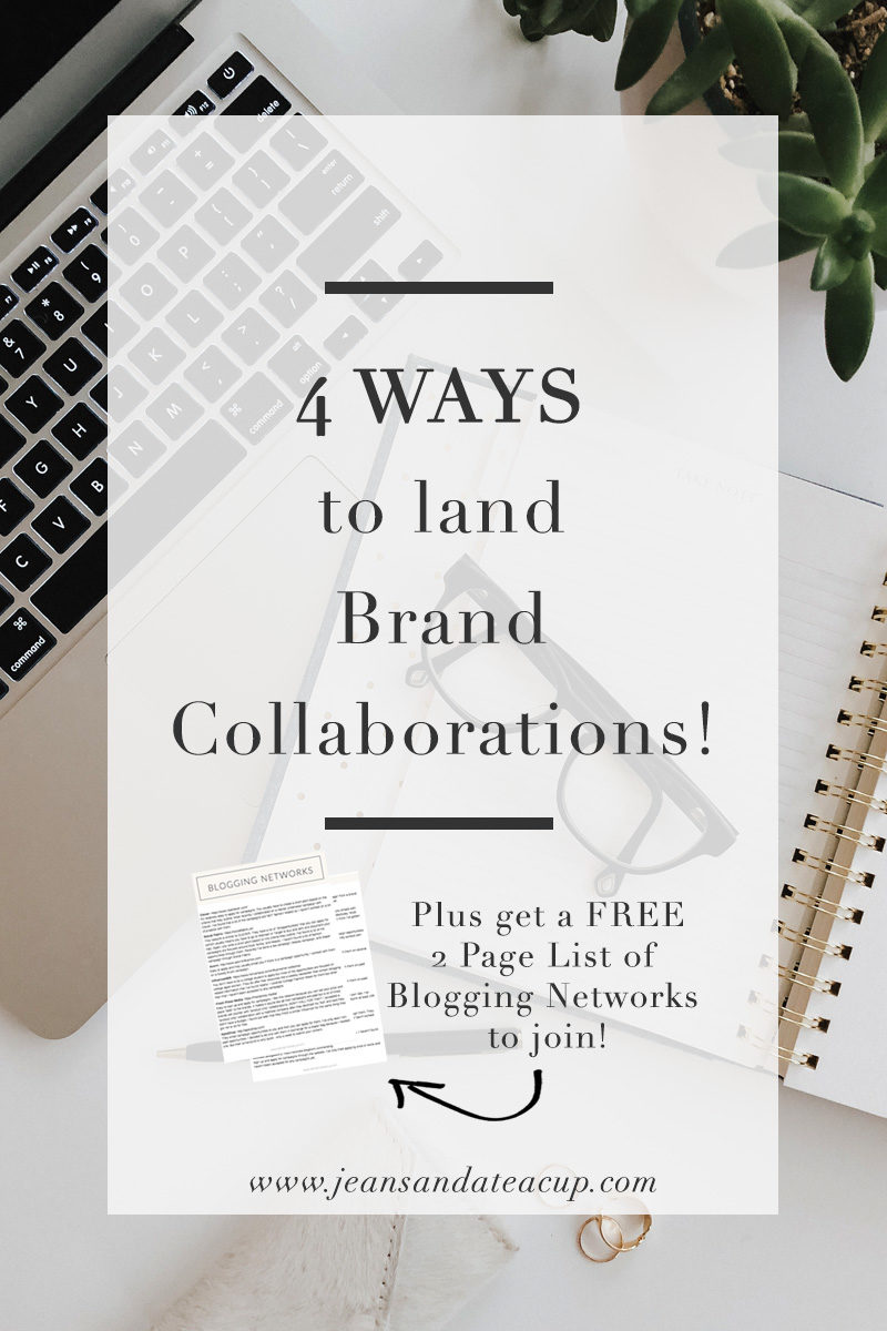 Four Ways to Land Brand Collaborations