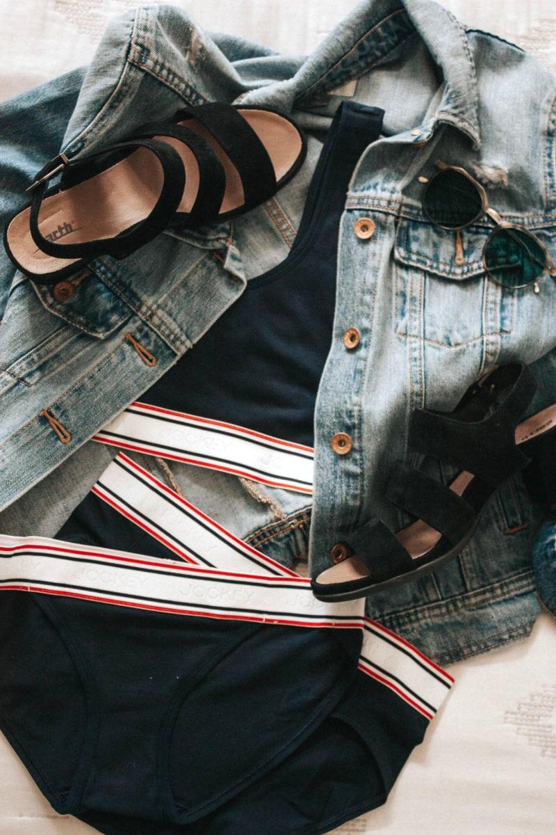 Jockey Underwear, Earth Shoes and Zenni Optical Sunglasses