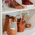 Sezane Leather Bags at the Pop Up Shop at The Grove