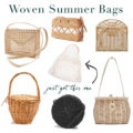 Woven Summer Bag options