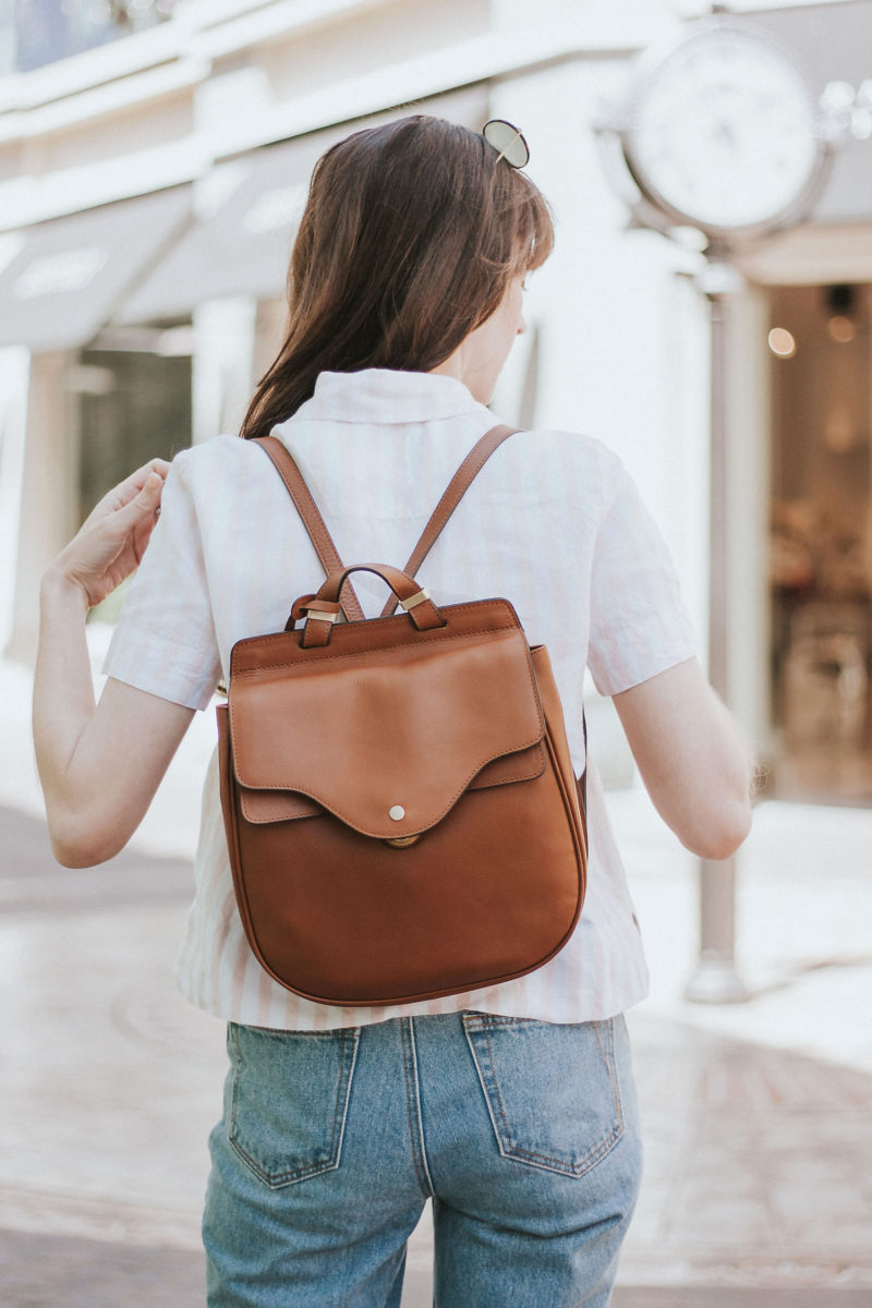 Slim Leather Backpack from Radley London