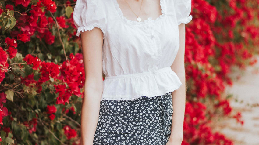 French Inspired Summer Outfit