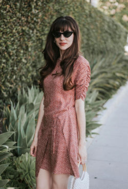 California Fashion Blogger wearing French Fashion Label Musier Paris