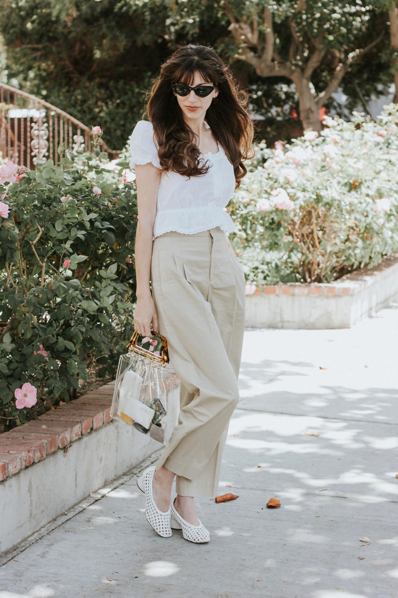 Neutral Spring Outfit on Los Angeles Fashion Blogger: Why I Like to Shop Smaller Brands