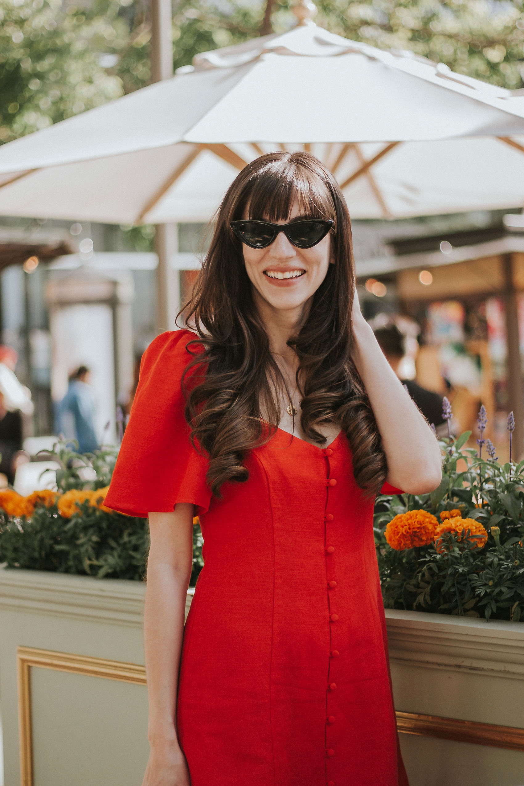 7a4b584ee7 The Perfect Little Red Dress for Summer - Jeans and a Teacup