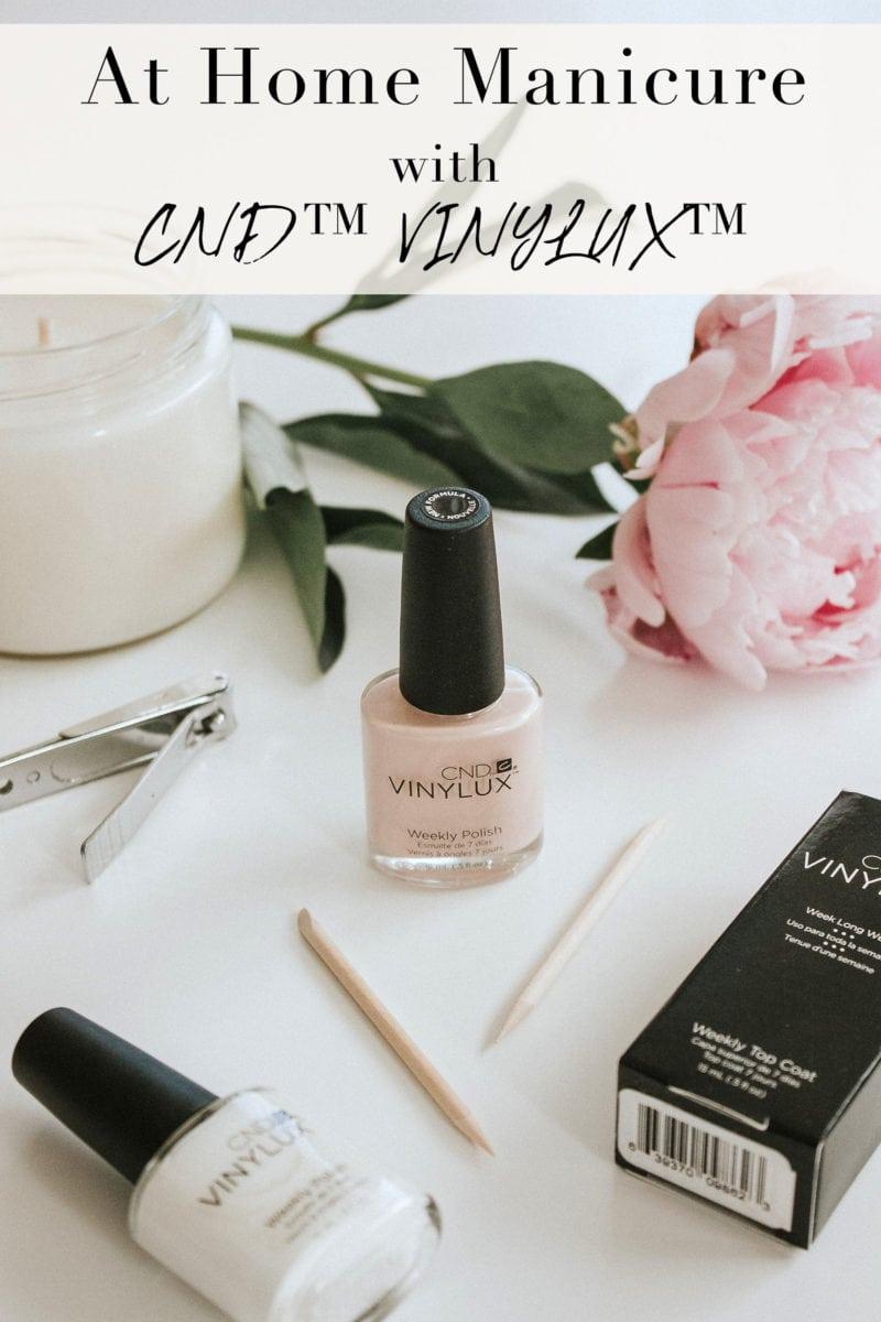CND VINYLUX Long Wear Polish Manicure
