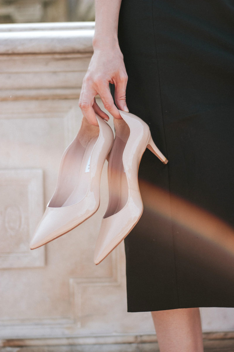 Nude James Chan Mid Heels
