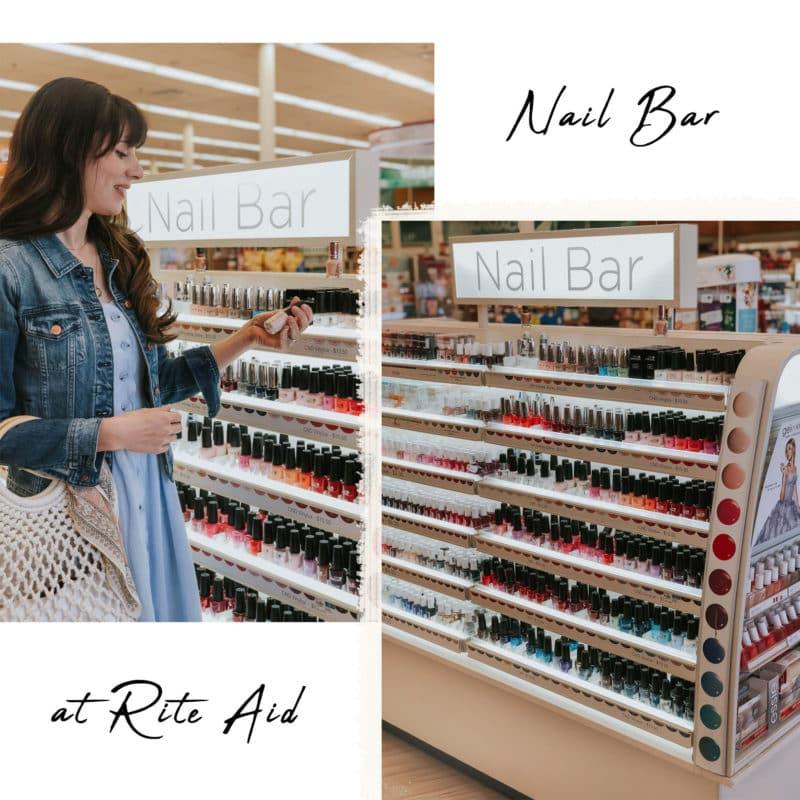 CND Vinylux at the Nail Bar at Rite Aid