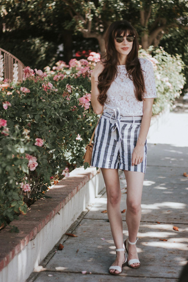 Los Angeles Style Blogger wearing affordable Who What Wear collection from Target