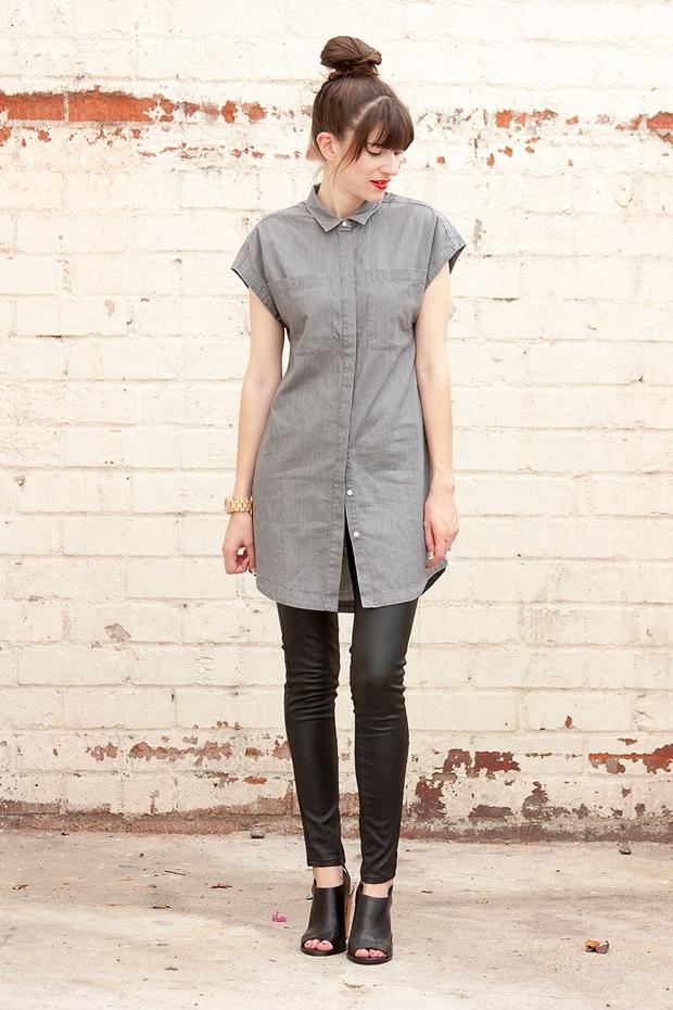 Everlane shirtdress
