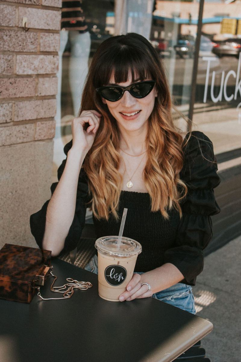 T3 Micro Single Pass Wave Hairstyle on Los Angeles Fashion Blogger