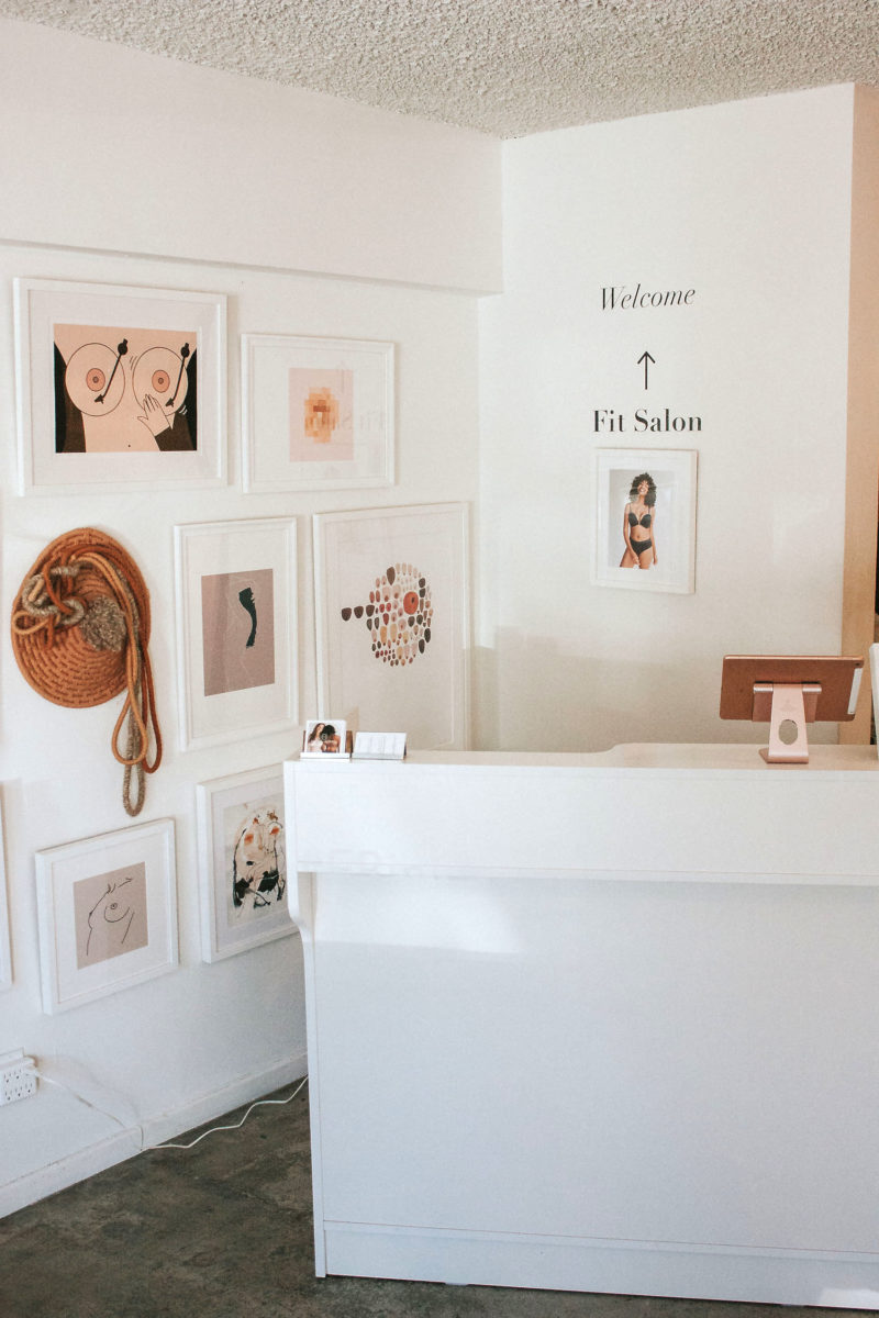Find the Perfect Bra at the Evelyn and Bobbie Pop Up Shop
