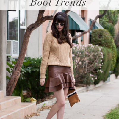 Fall Boot Trends + Shopbop Sale!