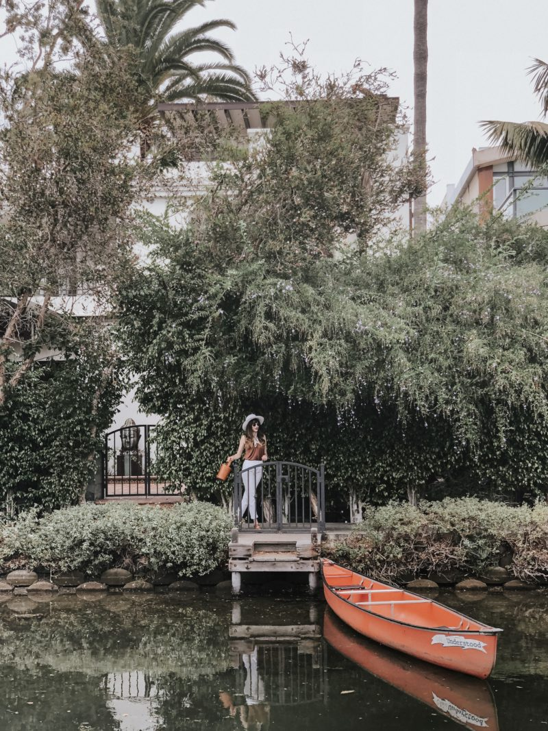 Venice Canals in California