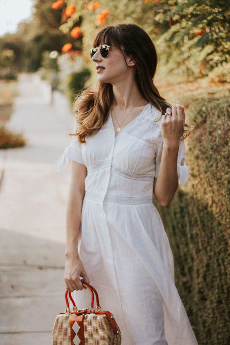 White French Dress from Rouje Paris