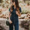 Denim jumpsuit from French Fashion Brand Sezane
