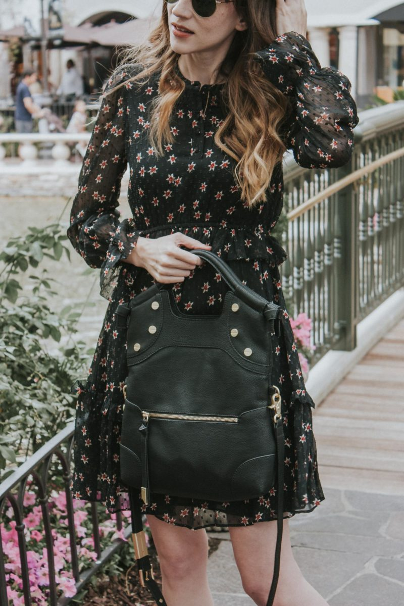 Los Angeles Style Blogger with a Foley & Corinna Lady Tote vegan leather bag