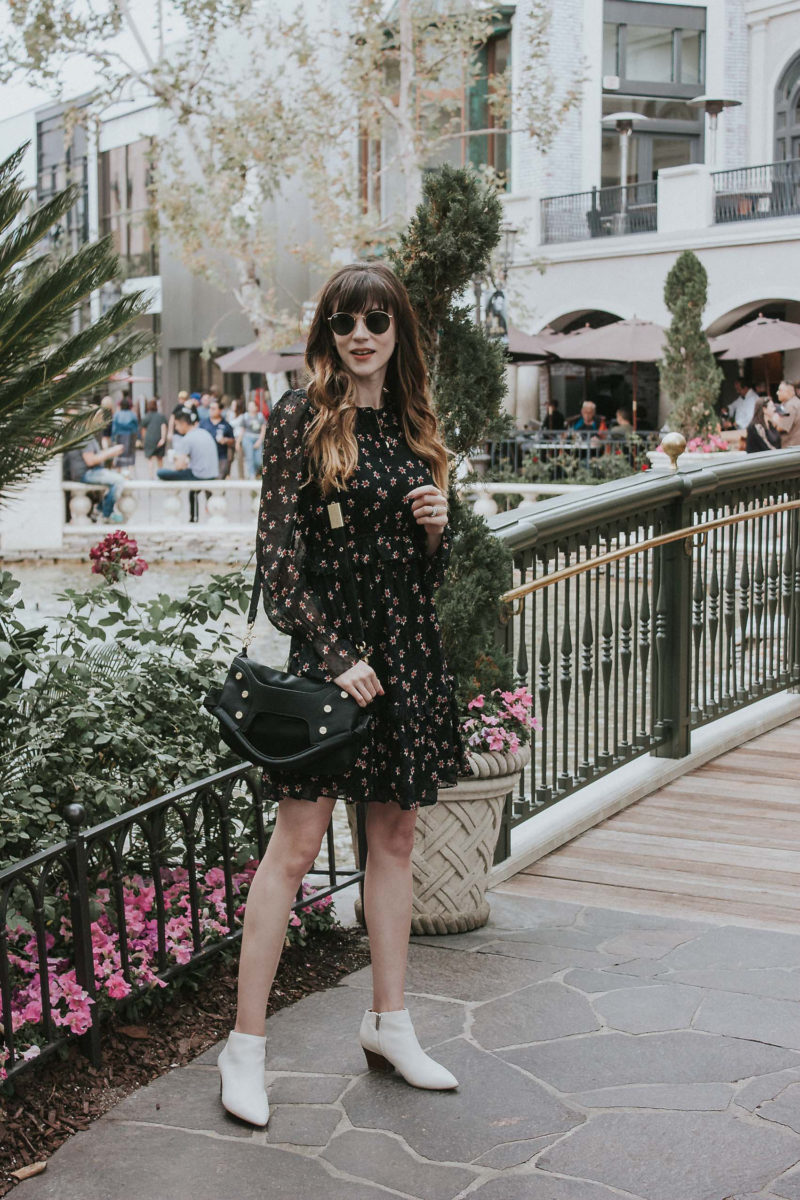 Los Angeles Fashion Blogger at The Grove wearing & Other Stories Dress