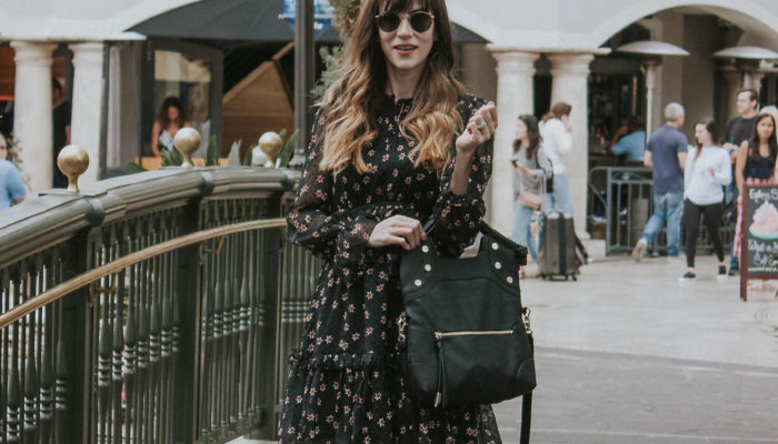 Fall Dresses and White Booties + Link Up