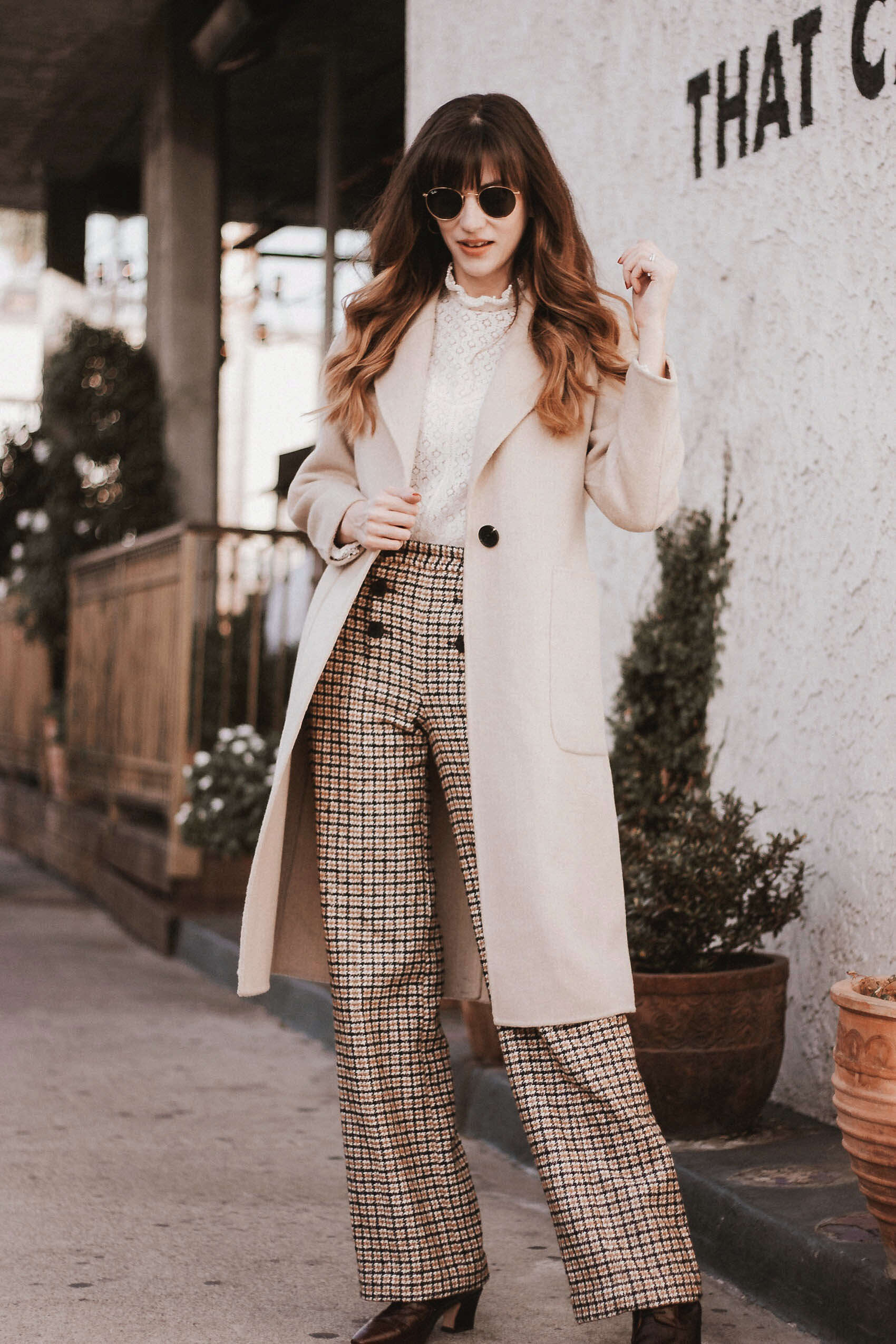 Social Eras Long Wool Coat