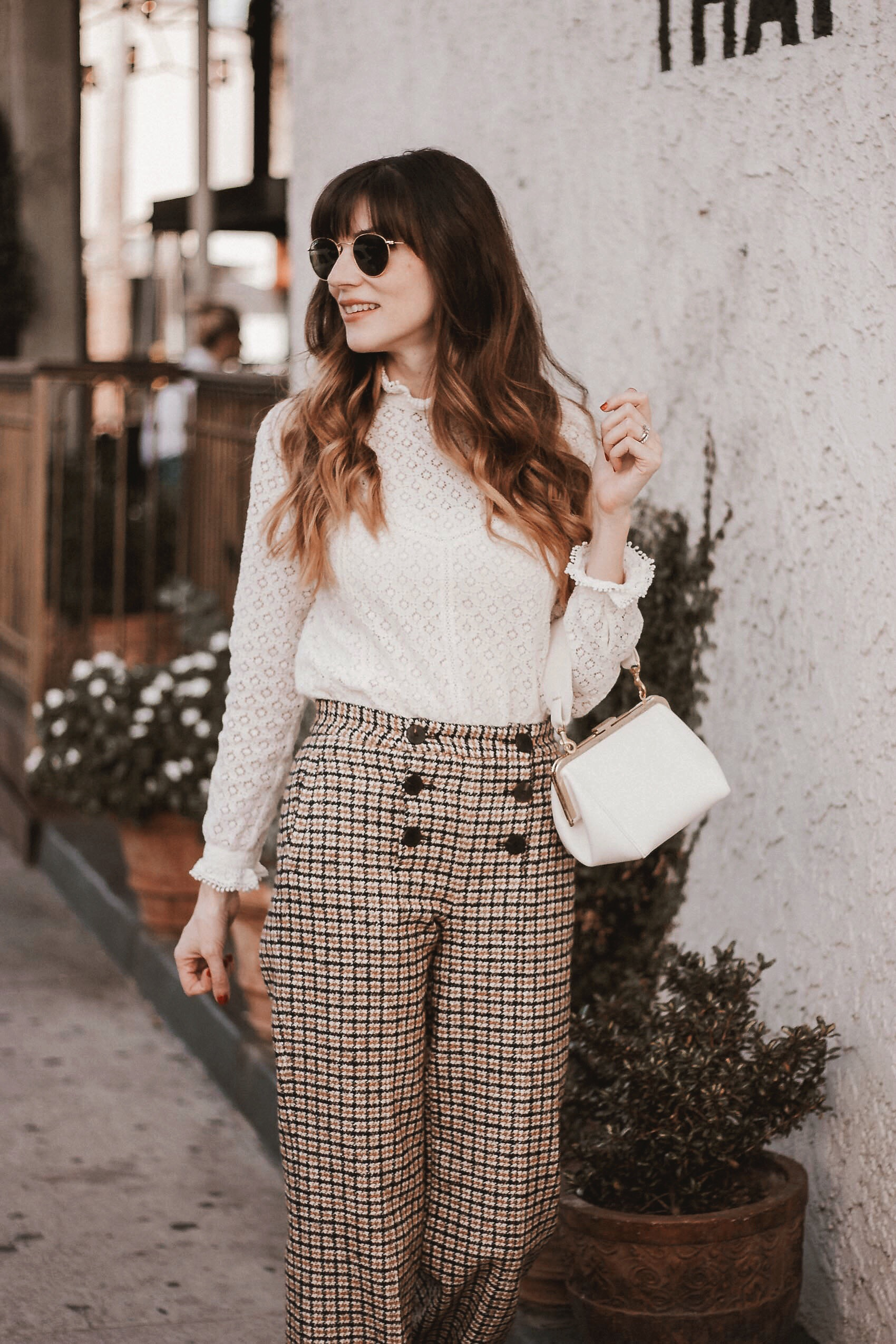 Clare V bag, Sezane Fall Outfit