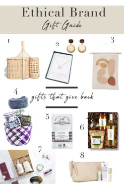Ethical Brand Gift Guide