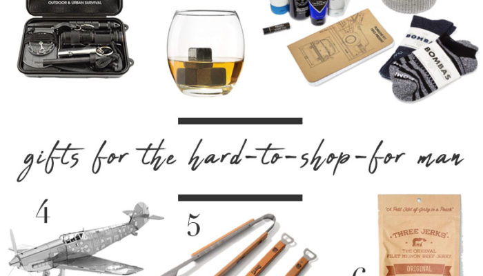 Gift Guide for Hard-To-Shop-For Men