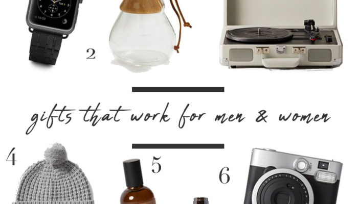 His & Her Gift Guide: Gifts that work for men and women