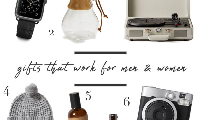 Gifts that work for both men and women