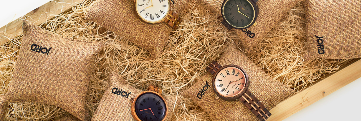 Jord Wood Watch, Unique Gifts for Men and Women