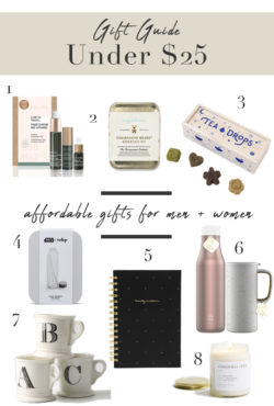 Gifts under $25 for men and women