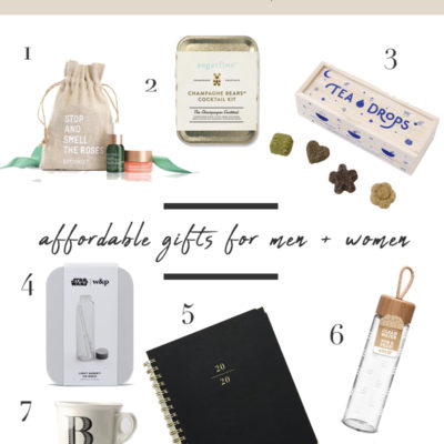 Gift Guide Under $30 for Men and Women