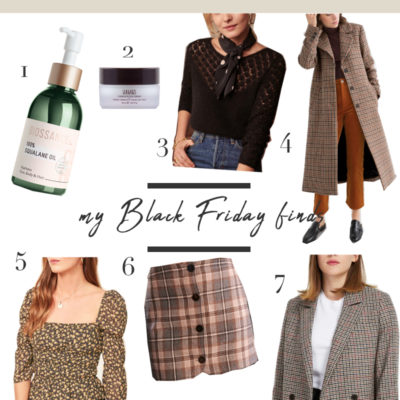 What I Bought + Cyber Monday Sales