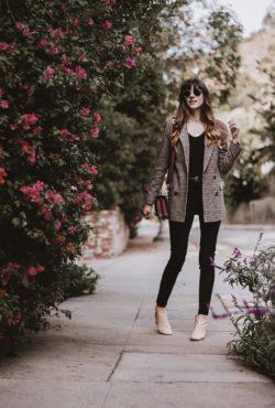 Ethical fashion blogger wearing Everlane and Frank + Oak