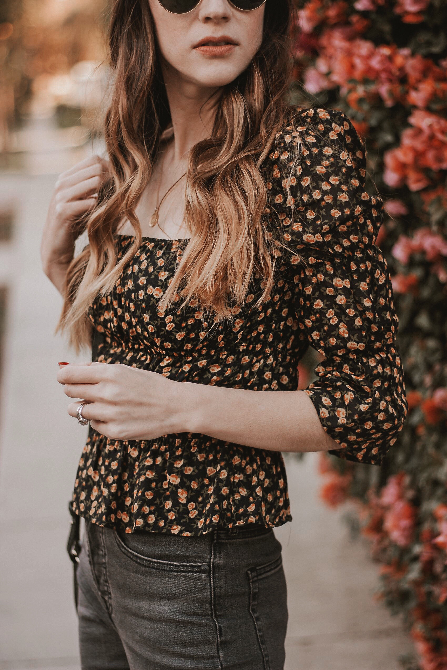 Los Angeles brand Reformation of LA Fashion blogger, Jeans and a Teacup