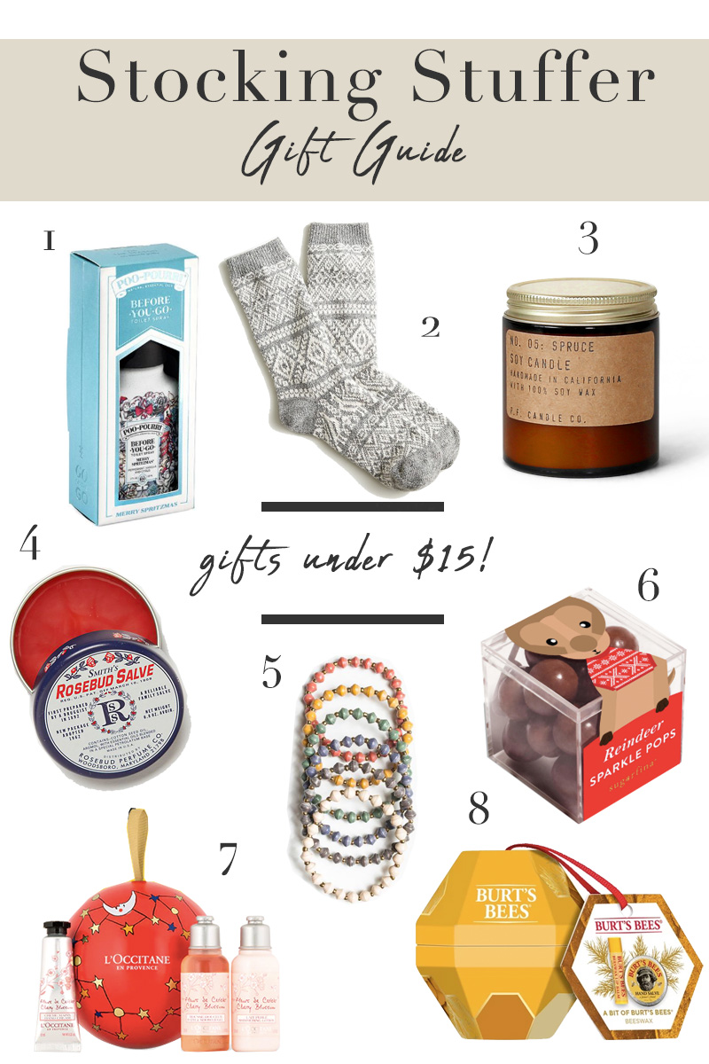 Affordable Stocking Stuffer Gift Guide