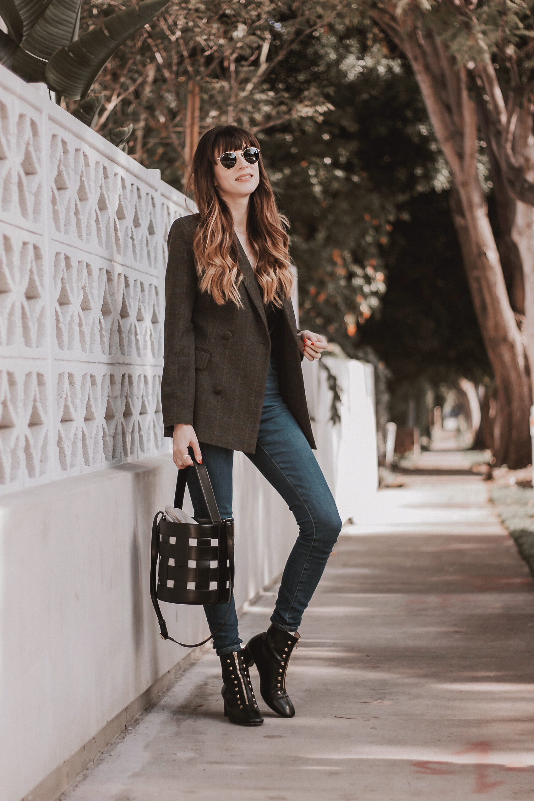Jeans and a Teacup, Los Angeles Fashion Blogger, Ethical Fashion Blogger, How to Style a Wool Blazer