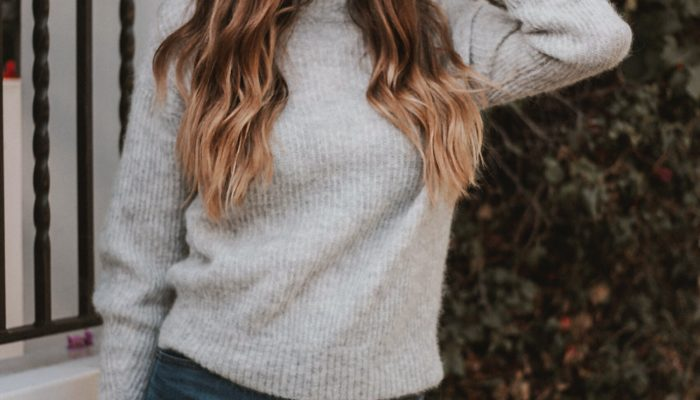 The Softest Wool Sweater + Link Up