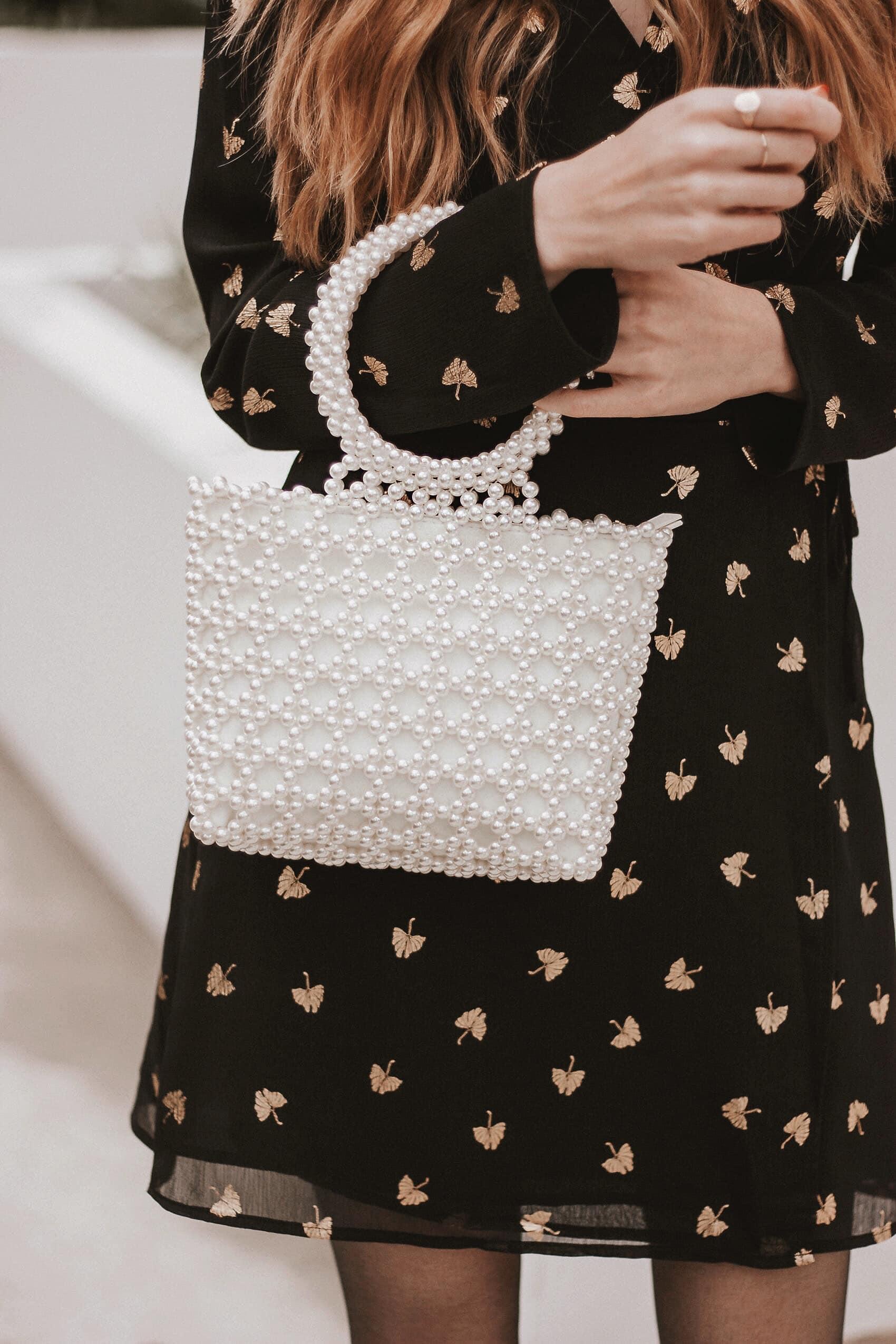 Vintage Inspired Pearl Bag Topshop, Shrimps Bag Dupe