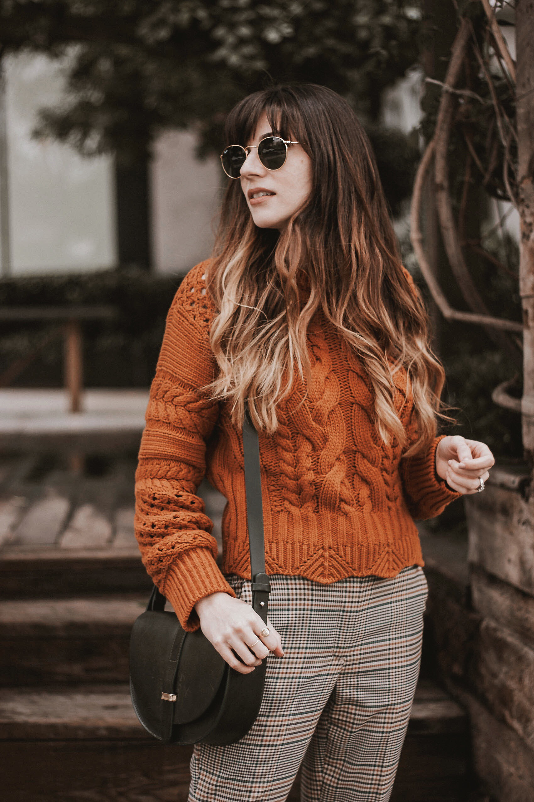 Cropped Chunky Knit Sweater from & Other Stories