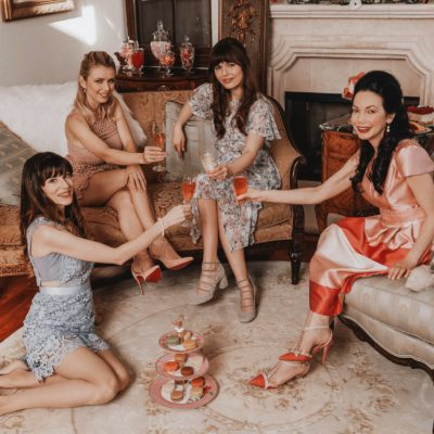Galentine's Day Party, The Dining Dolls, Pretty Little Shoppers