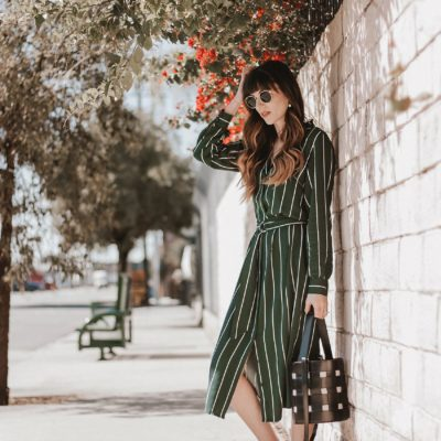 3 Ways to Style a Shirtdress