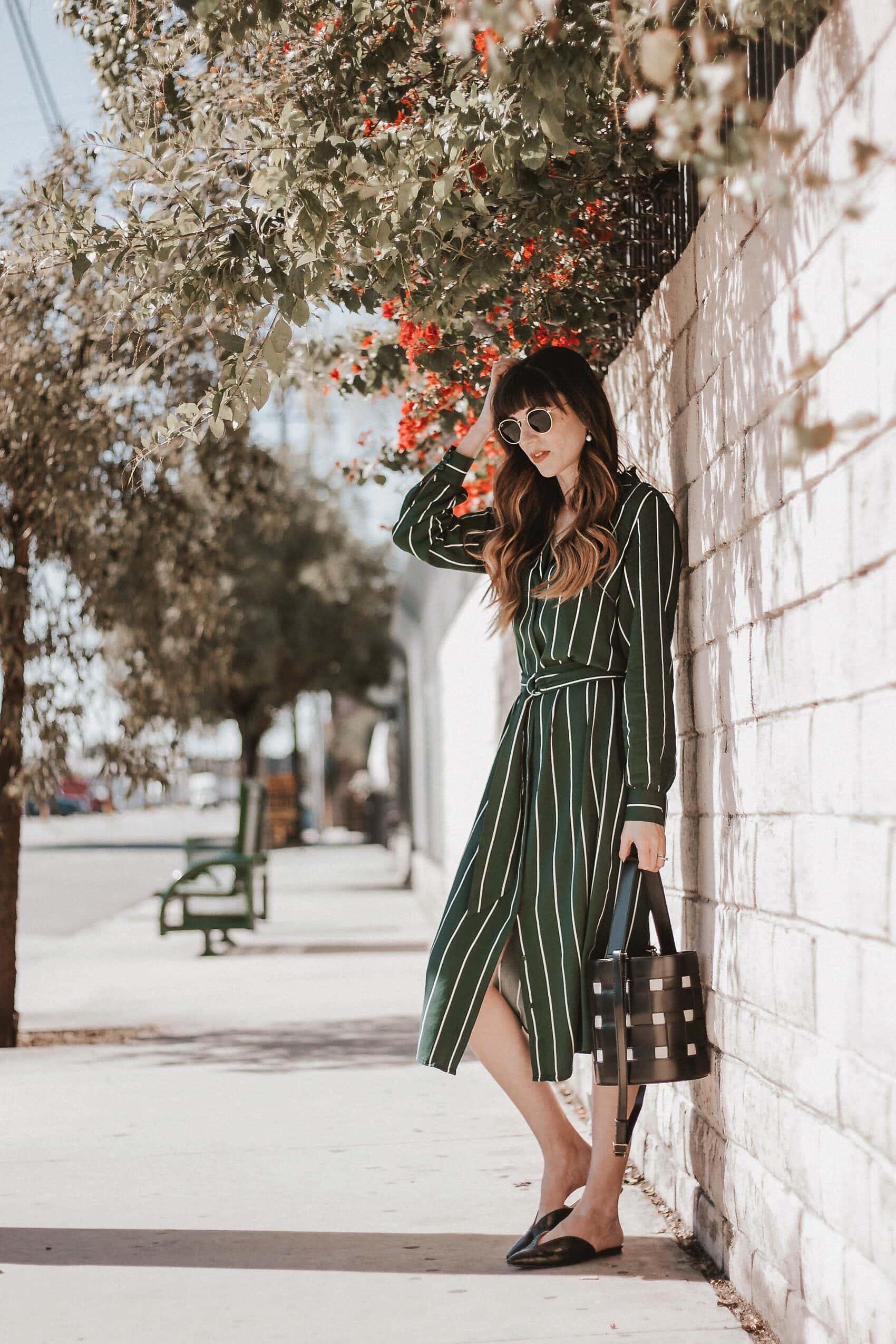 Three Ways to Style A Shirtdress
