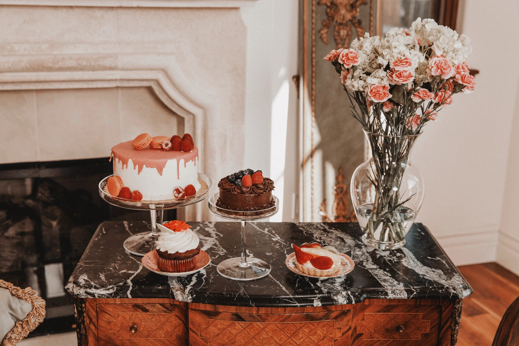 Marie Antoinette Themed Galentine's Day Party