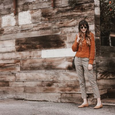 Cropped Sweater + Cropped Pants