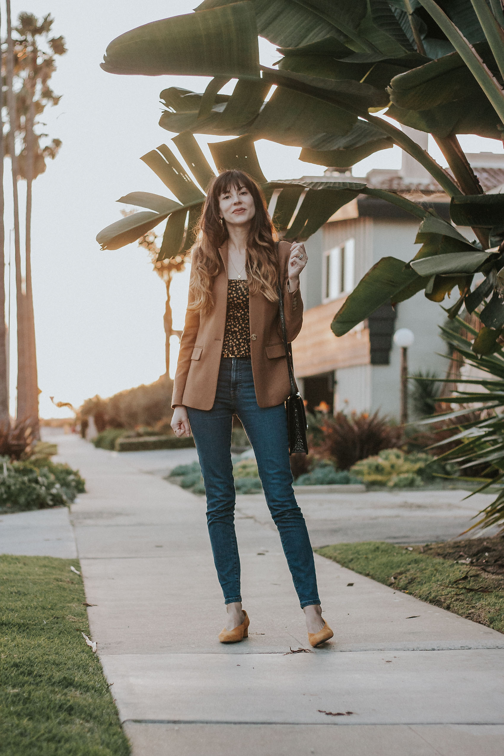 Los Angeles Ethical Fashion Blogger wearing Reformation and Everlane