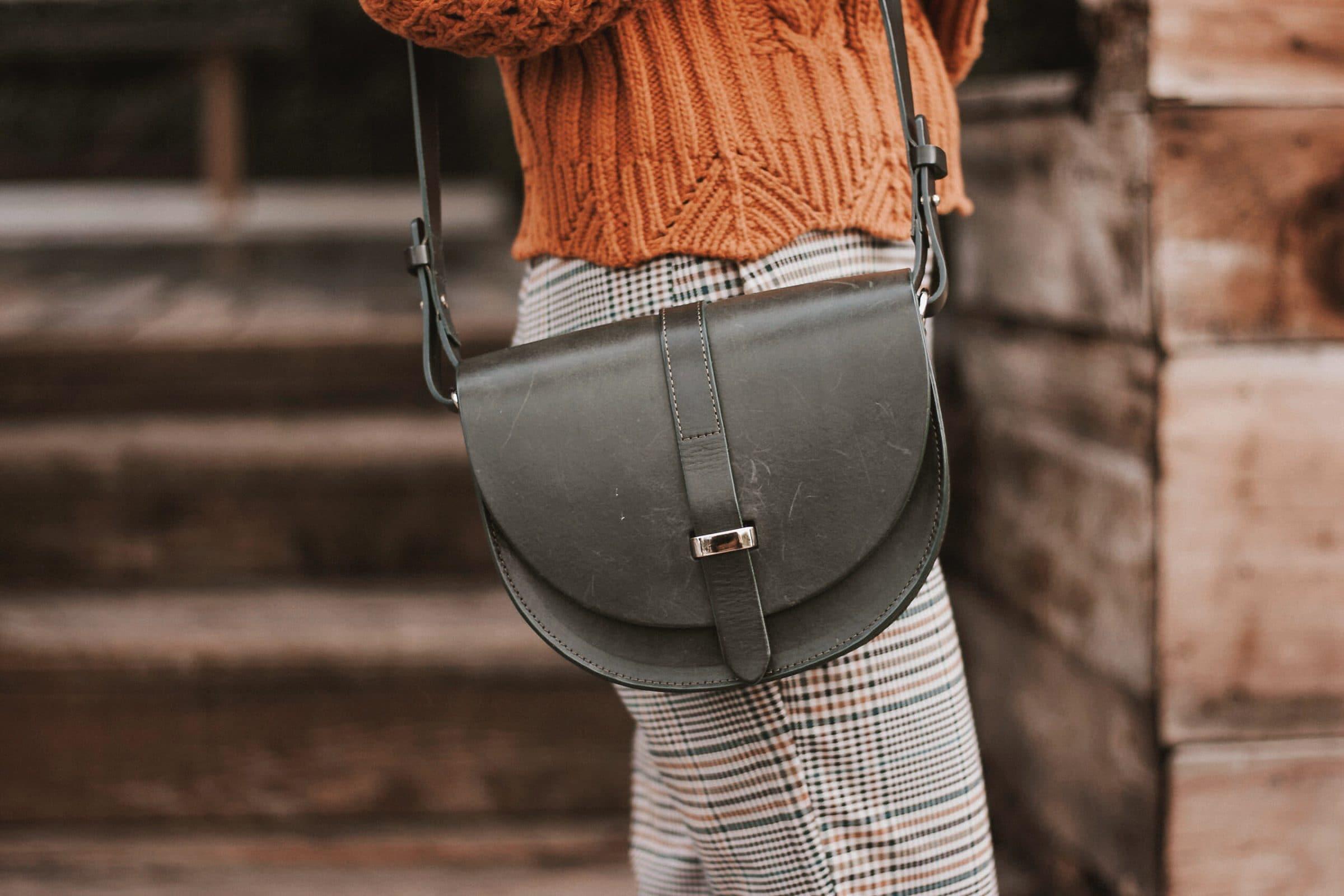 Sezane Claude Bag on Los Angeles Fashion Blogger