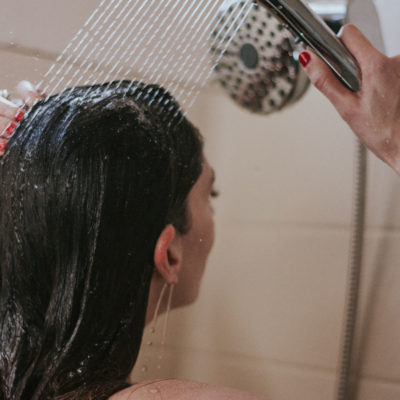 How I wash my hair with the Waterpik® Hair Wand Spa System