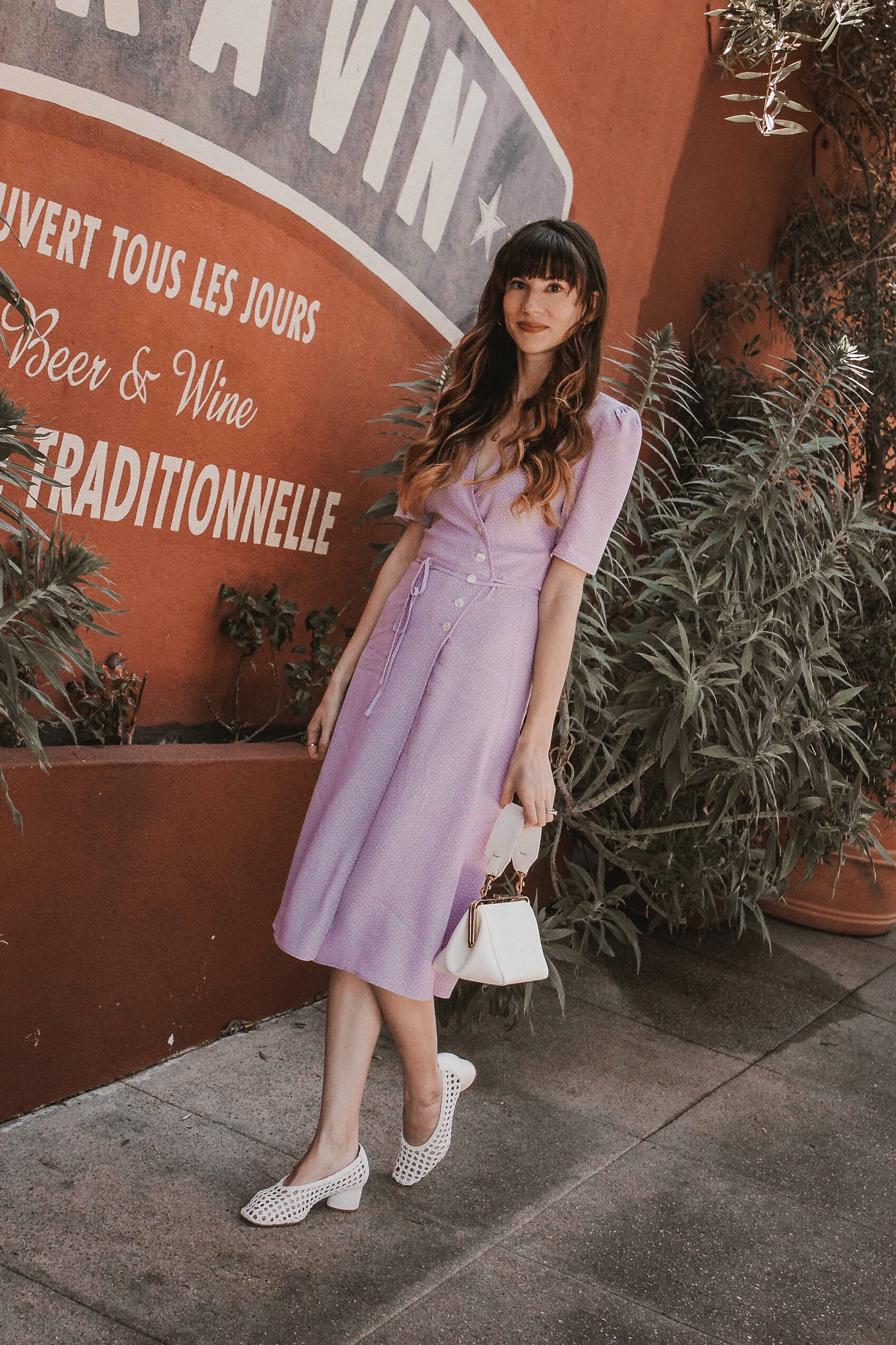 Where to buy Spring Dresses, French Spring Dress on Los Angeles Fashion Blogger