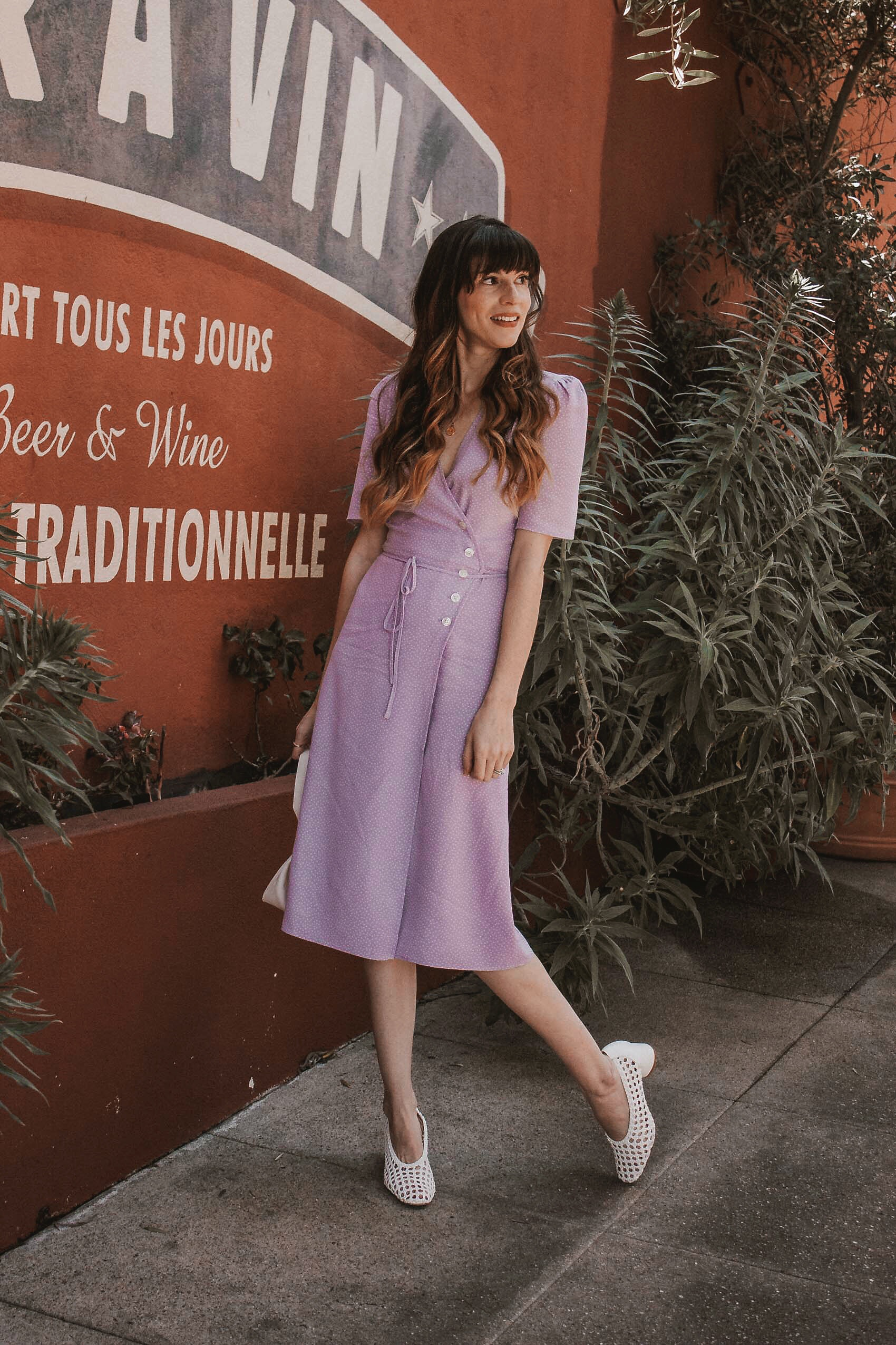 Los Angeles Blogger, Rouje Gabin Dress, French Chic Summer Dress